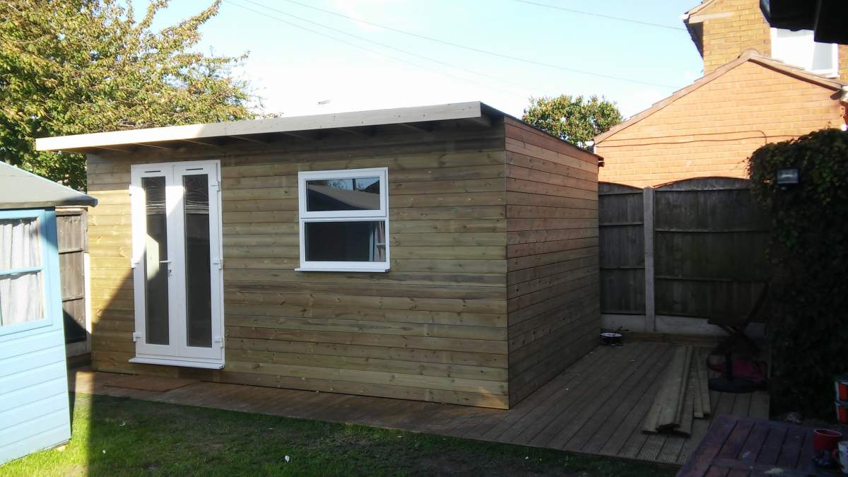 chester garden room finished